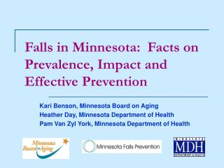 Falls in Minnesota:  Facts on Prevalence, Impact and Effective Prevention