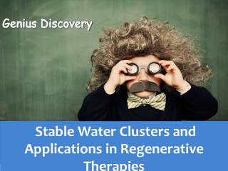 Double Helix patterned  Stable Water Clusters