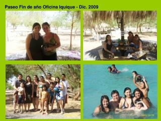 Paseo Fin de año Oficina Iquique - Dic. 2009