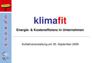 klima fit Energie- & Kosteneffizienz in Unternehmen