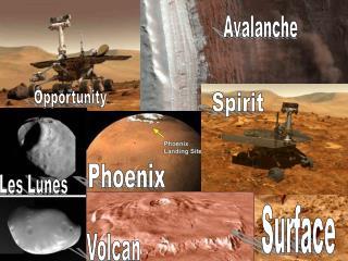 LA  PLANETE  MARS