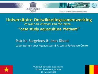 Universitaire Ontwikkelingssamenwerking en waar dit allemaal kan toe leiden...