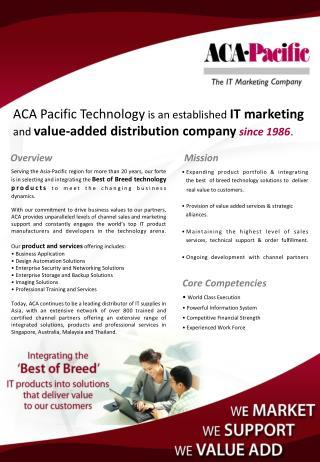 Expanding product portfolio & integrating