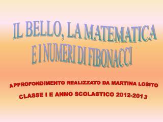 IL BELLO, LA MATEMATICA