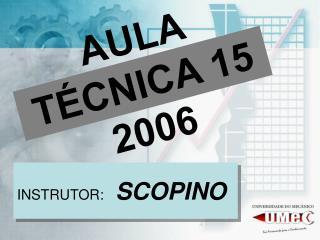 AULA TÉCNICA 15 2006