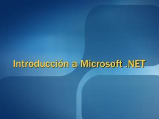 Introducci n a Microsoft