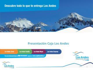 Presentación Caja Los Andes