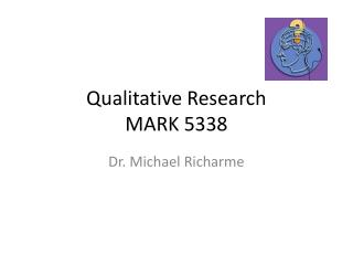 Qualitative Research MARK 5338