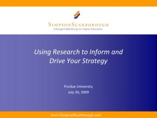 Using Research to Inform and Drive Your Strategy