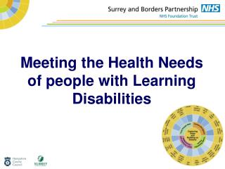 Meeting the Health Needs of people with Learning Disabilities
