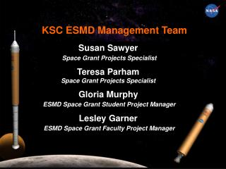 KSC ESMD Management Team