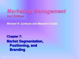 Marketing Management 2nd Edition