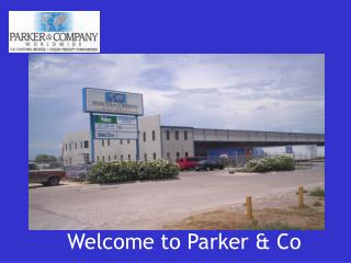 Welcome to Parker & Co