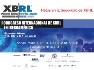 Retos en la Seguridad de XBRL
