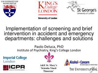 AED study design