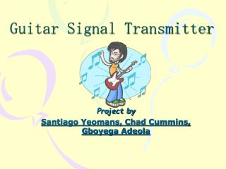 Guitar Signal Transmitter
