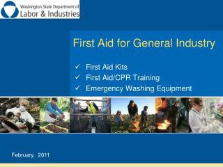 First Aid for General Industry