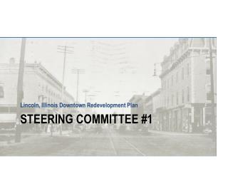 Steering Committee #1