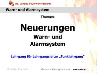 Warn- und Alarmsystem