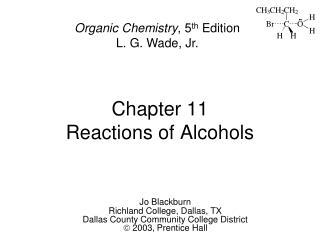 CHEMISTRY LG ORGANIC WADE
