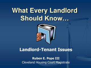 What Every Landlord Should Know�
