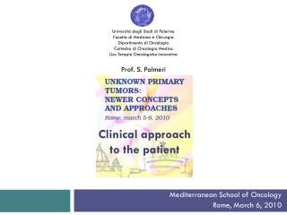 Clinical approach to  the  patient