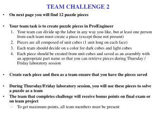 TEAM CHALLENGE 2