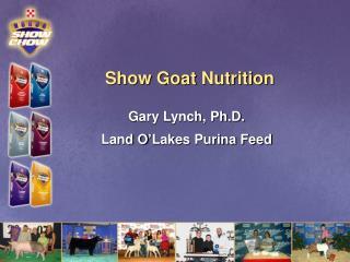 Show Goat Nutrition