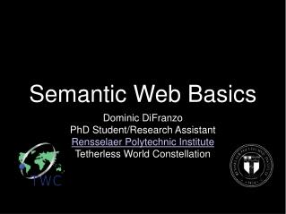 Semantic Web Basics