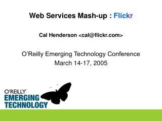 Web Services Mash-up :  Flick r