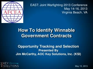 How To Identify Winnable  Government Contracts