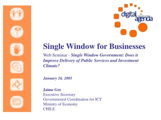 Single Window for Businesses