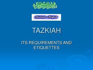 TAZKIAH