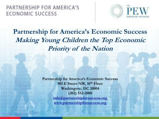 Partnership for America�s Economic Success