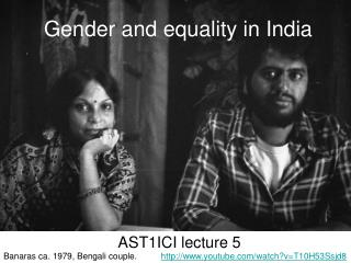 Gender and equality in India