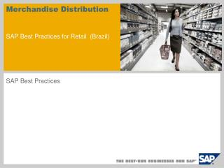 Merchandise Distribution SAP Best Practices for Retail (Brazil)