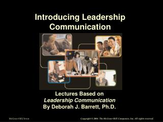 Introducing Leadership Communication