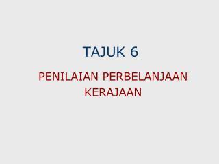 TAJUK 6