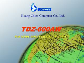 TDZ-600AW PCB GUIDE HOLE DRILLING MACHINE