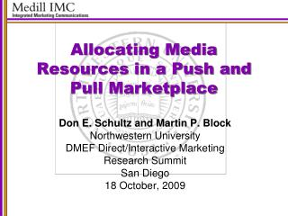 Allocating Media Resources in a Push and Pull Marketplace