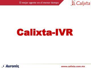 Calixta-IVR
