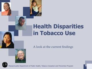 Health Disparities in Tobacco Use