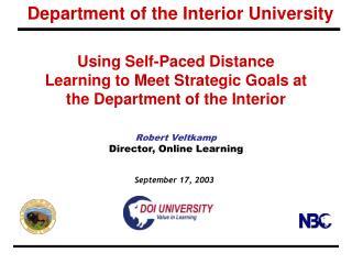 Department of the Interior University