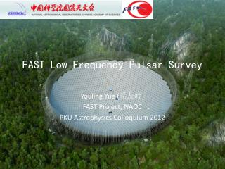 FAST Low Frequency Pulsar Survey