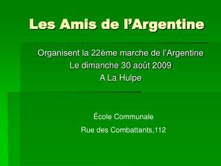 Les Amis de l'Argentine