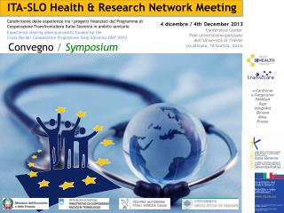 ITA-SLO Health & Research Network Meeting