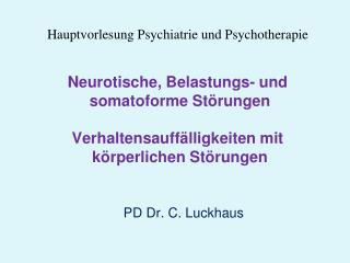 PD Dr. C. Luckhaus