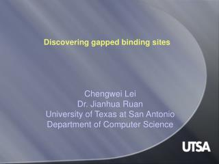 Discovering gapped binding sites