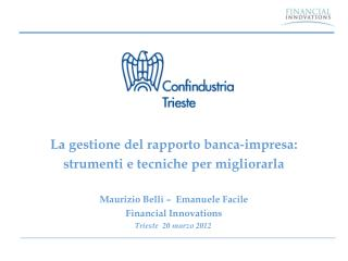 Trieste  20 marzo 2012