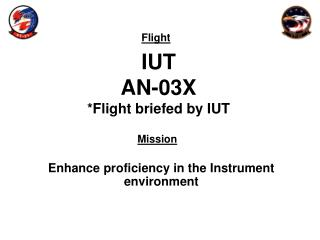 IUT AN-03X *Flight briefed by IUT